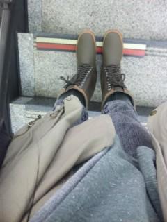駅でふと気付いたんだ。