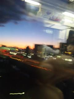 東京の夜明け